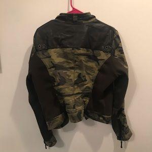 Sugarfly Jackets & Coats - Sugarfly camo military jacket
